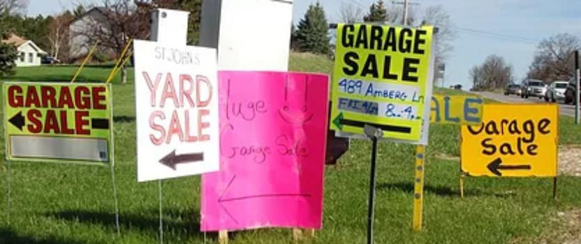 Annual Garage Sale