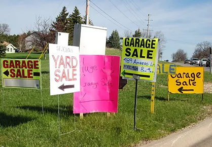 Annual Garage Sale Registration