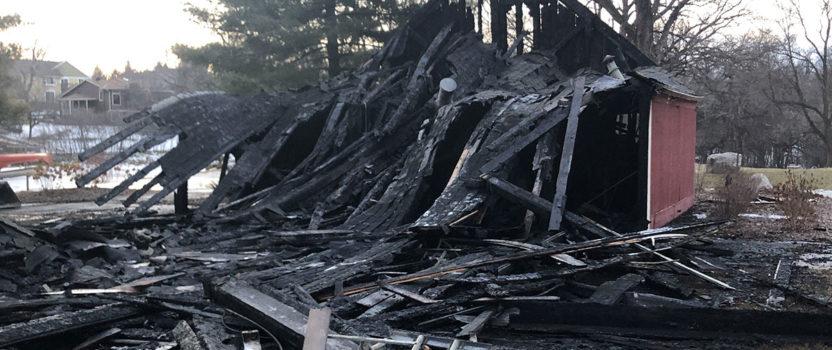 Lake Grace Pavilion Fire