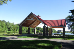 The Lake Grace Pavilion is now complete!
